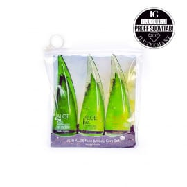Komplekt hooldustoodetega Jeju Aloe Face And Bodycare Set