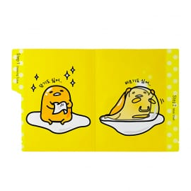 Kaheastmeline näohooldus Gudetama All Kill Sheet (Cleansing Tissue & All-In-One Mask Sheet)