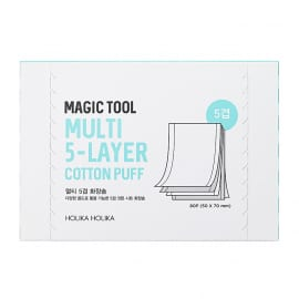 Vatipadjad Magic Tool Multi (5-Layer) Cotton Pads 80 tk