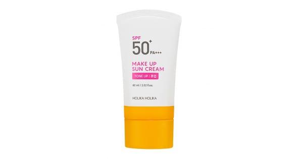 Päikesekaitsega meigialuskreem Make Up Sun Cream SPF50+ - Holika Holika