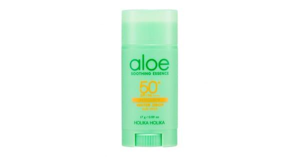 Päikesekaitsepulk Aloe Soothing Essence Water Drop Sun Stick SPF50+ - Holika Holika