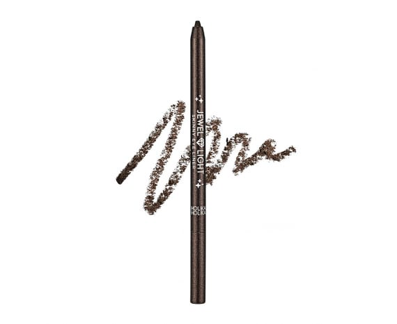 Veekindel särav silmapliiats Jewel Light Skinny Eye Liner 02 Starry Brown