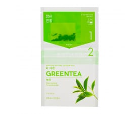 Teepakikesega kangast näomask Instantly Brewing Tea Bag Mask - Green Tea