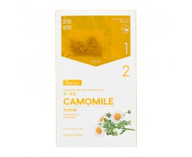 Teepakikesega kangast näomask Instantly Brewing Tea Bag Mask - Camomile (5 tk)