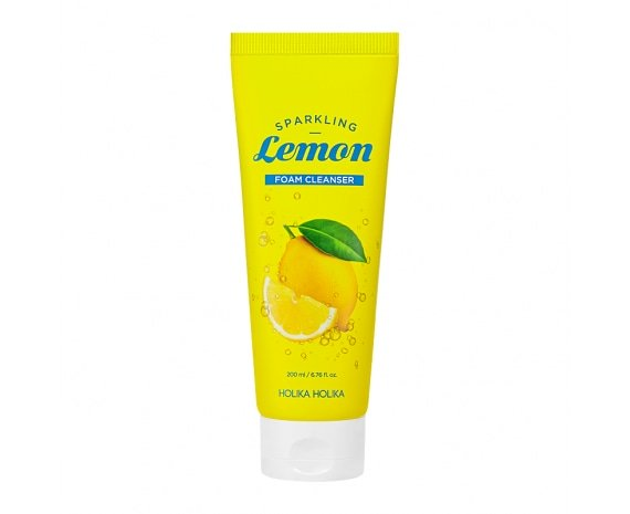 Sparkling Lemon Foam Cleanser