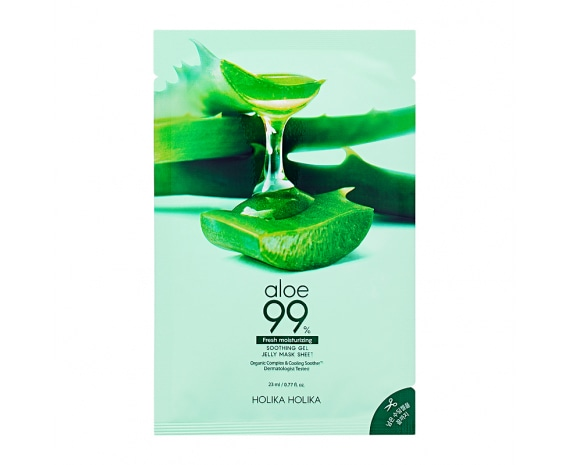 Näomask Aloe 99% Soothing Gel Jelly Mask Sheet