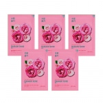 Näomaskide komplekt Pure Essence Mask Sheet - Damask Rose (5 tk)