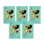 Näomaskide komplekt  Pure Essence Mask Sheet - Avocado (5 tk)