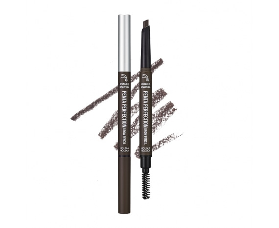 Kulmupliiats Wonder Drawing Penta Perfection Brow Pencil 01 Dark Brown
