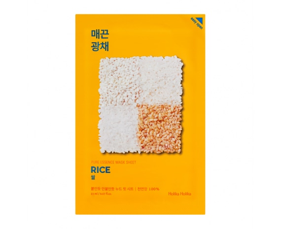 Näomask Pure Essence Mask Sheet - Rice