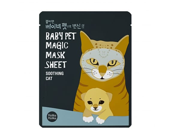 Näomask Baby Pet Magic Mask Sheet (Cat)