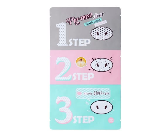 Pooride puhastuskomplekt Pig Nose Clear Black Head 3-Step