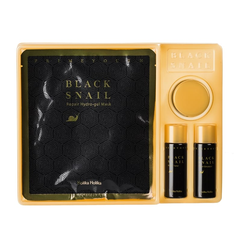 Prime Youth Black Snail Kit - Holika Holika
