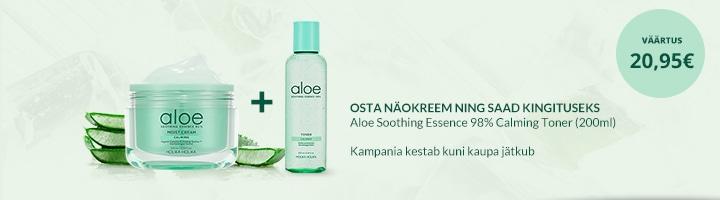 Aloe Moist Cream GWP Toner