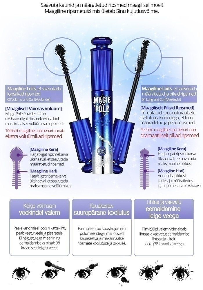 Ripsmetušš Magic Pole Mascara 2X